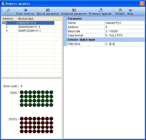 Remote module   Haiwell PLC programming software   купить