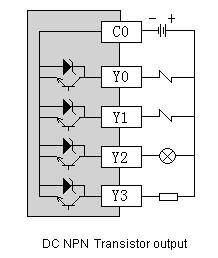 Схема подключения цифрового выхода (DO)