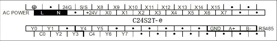 Схема подключения клемм