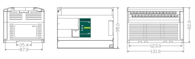 Габариты H32S2T-e