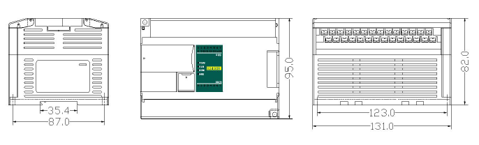 Габариты H32S2P-e